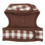 View Image 4 of Motley Pinka Dog Harness by Pinkaholic - Brown