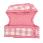 View Image 4 of Motley Pinka Dog Harness by Pinkaholic - Pink