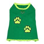 View Image 1 of Muscle Dog Shirt by Gooby - Green