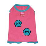 View Image 1 of Muscle Dog Shirt by Gooby - Pink