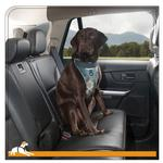 View Image 2 of Muted Floral Car Dog Harness by Kurgo