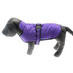 View Image 2 of Muttluks Belted Dog Coat - Purple