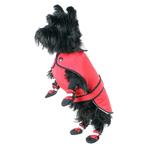 Muttluks Belted Dog Coat - Red