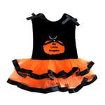 View Image 3 of My Lil' Pumpkin Tutu Embroidered Dog Dress