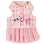 View Image 1 of Naava Flirt Harness Dress by Pinkaholic - Pink