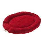 View Image 1 of Nature Nap Oval Pet Bed - Brick Red