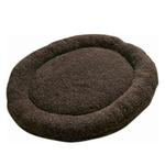 View Image 1 of Nature Nap Oval Pet Bed - Chocolate