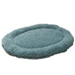View Image 1 of Nature Nap Oval Pet Bed - Sky Blue