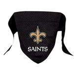 View Image 1 of New Orleans Saints Mesh Dog Bandana