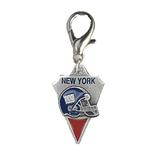 View Image 1 of New York Giants Pennant Dog Collar Charm