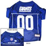 New York Giants Officially Licensed Dog Jersey