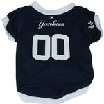 New York Yankees Baseball Dog Jersey