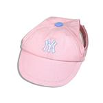 View Image 1 of New York Yankees Pink Dog Hat