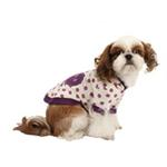 View Image 3 of Nila Hooded Dog Shirt by Pinkaholic - Purple