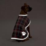 View Image 3 of Nor'easter Dog Blanket Coat - Chive