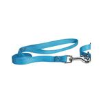 Nylon Brites Dog Leash by Guardian Gear - Malibu Blue