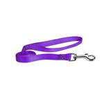 Nylon Brites Dog Leash by Guardian Gear - Sparkling Grape