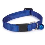 Nylon Cat Collar - Blue
