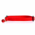 Nylon Cat Collar - Red