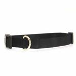 View Image 1 of Nylon Dog Collar by Zack & Zoey - Jet Black