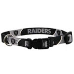 View Image 1 of Oakland Raiders Dog Collar
