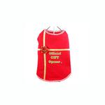 View Image 1 of Official Gift Opener Dog Tank Top - Red