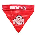 Ohio State Buckeyes Dog Bandana Collar Slider