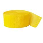 Party Supplies - Yellow Streamer