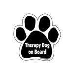 View Image 1 of Paw Magnet - Therapy Dog on Board