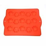 View Image 2 of Paw Shaped Silicone Dog Treat Pan