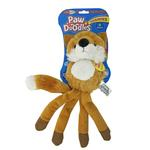 View Image 1 of Pawdoodles Squeakies Dog Toy - Fox