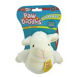 View Image 1 of Pawdoodles Squeebles Dog Toy - Sheep