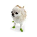 View Image 1 of PawZ Disposable Dog Booties 12pk - Tiny Bright Green