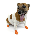 PawZ Disposable Dog Booties 12pk - X-Small Orange