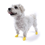 View Image 1 of PawZ Disposable Dog Booties 12pk - XX-Small Yellow