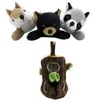 View Image 2 of Peek-A-Boo Forest Friends - 4 Pieces
