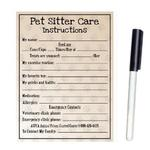 View Image 1 of Pet Sitter Care Dry Erase Magnet
