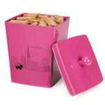 View Image 1 of Pet Studio City Dog Melamine Treat Canister - Cosmopolitan