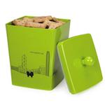 View Image 1 of Pet Studio City Dog Melamine Treat Canister - Neon Lights