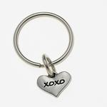 Pewter Pet Lover Keychain - XOXO