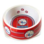 View Image 1 of Philadelphia 76ers Plastic Dog Bowl