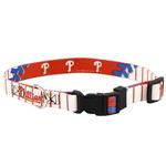Philadelphia Phillies Baseball Printed Dog Collar