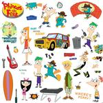 Phineas & Ferb Bedroom Decor - Phineas & Ferb Wall Decals