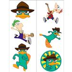 Phineas & Ferb Party Supplies - Temporary Tattoo Favors