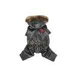 View Image 1 of Pilot Winter Jumpsuit by Puppia - Black