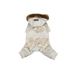 View Image 1 of Pilot Winter Jumpsuit by Puppia - Gold