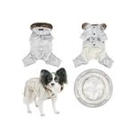 View Image 2 of Pilot Winter Jumpsuit by Puppia - Silver