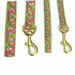 View Image 2 of Pink Palms Dog Leash by Up Country