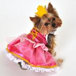 View Image 1 of Pink Princess Halloween Dog Costume