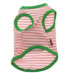 View Image 3 of Pink Striped Dog Pajama Set